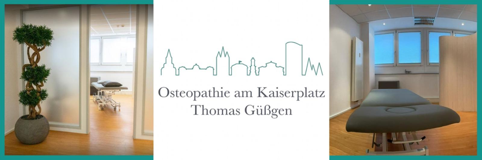 Praxisräume - Osteopathie am Kaiserplatz - Thomas Güßgen